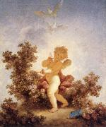 Jean-Honore Fragonard The Sentinel oil painting on canvas